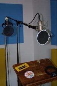 Windschutz Mikrofon Entfernung